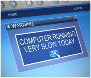 fixture to computer running slow