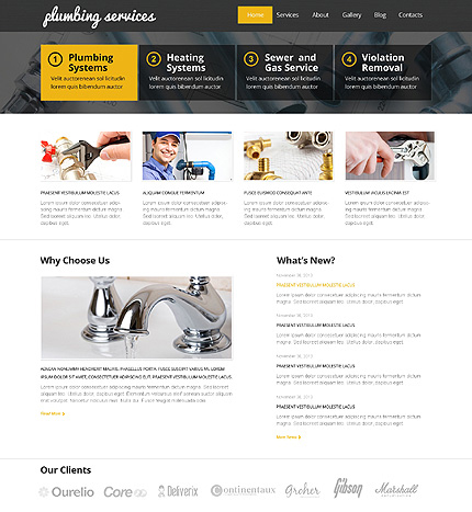 comprehensive services theme wordpress
