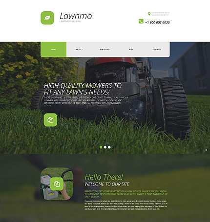 wordpress lawn care theme