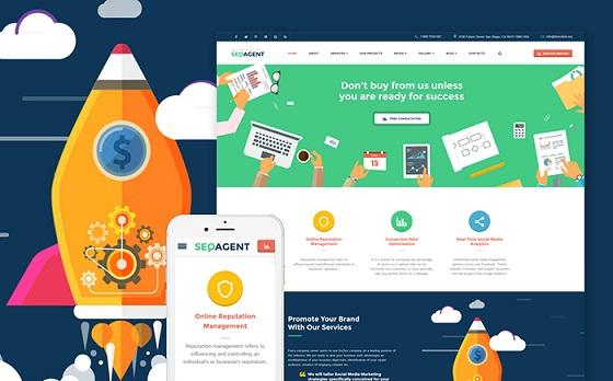 html seo site templates