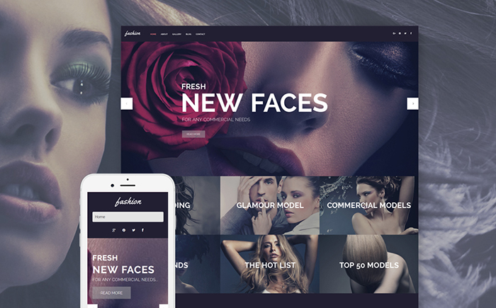 Fashion WP Template