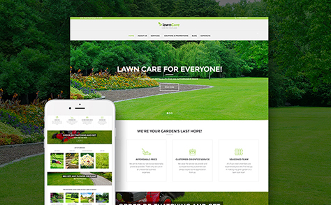 Lawn Mowing WordPress Theme