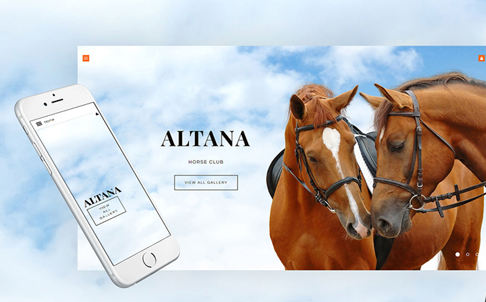 Horse Club Joomla Template