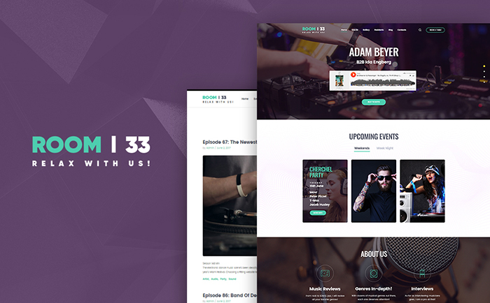 Audio Shop WordPress Theme
