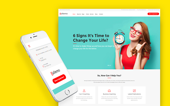 Life Coach Training WordPress Theme