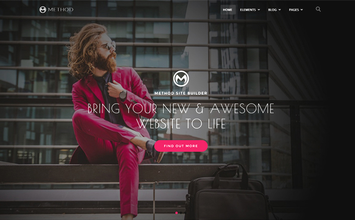 Method,  A Huge Multi-Concept WordPress Theme