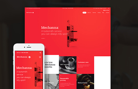 Mechanna - Locksmith WordPress Theme