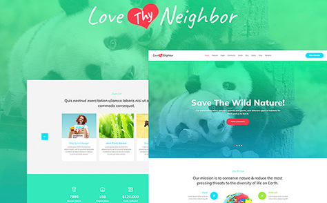 Charity Events WordPress Theme