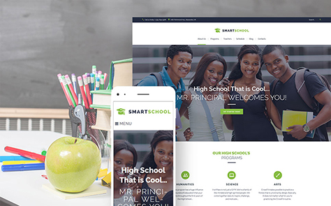 Department Of Education WordPress Theme