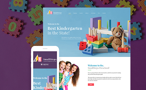 Children Education WordPress Theme