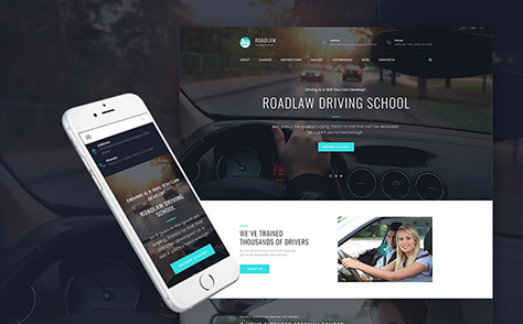 Driving School WP Theme