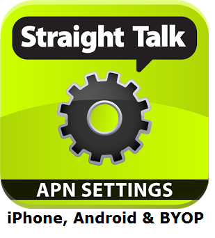 Straight Talk APN Settings for iPhone, Samsung, and BYOP -
