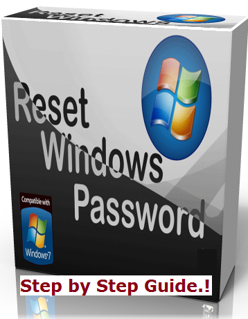 resetting password of windows 7
