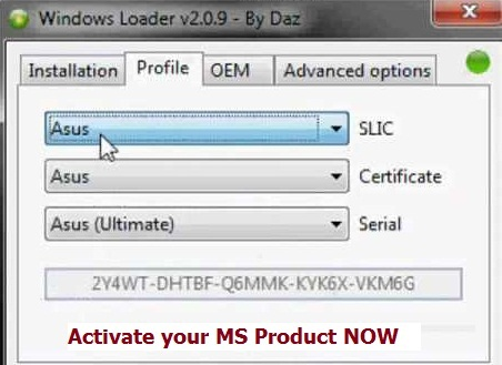 download windows 7 crack loader v 2.2 3 activation free