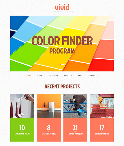 wp color finding template