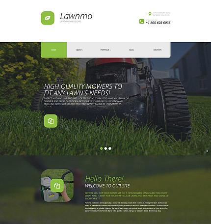 wordpress lawn care theme