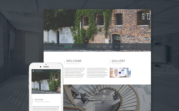 Sweet House Website Template