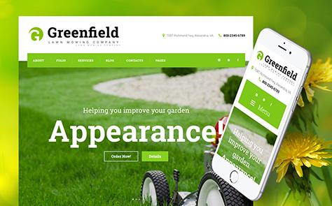 Lawn Maintenance WordPress Theme