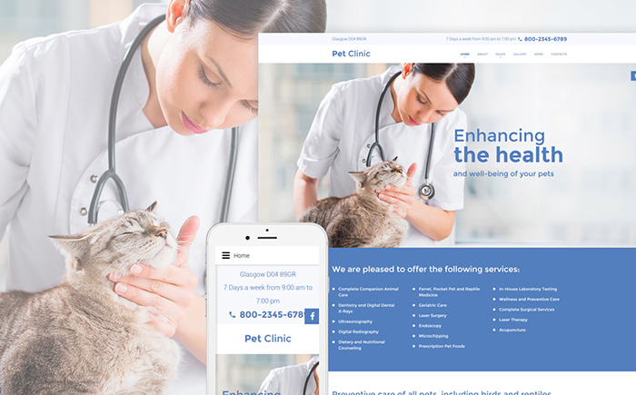 Clinic Joomla Template