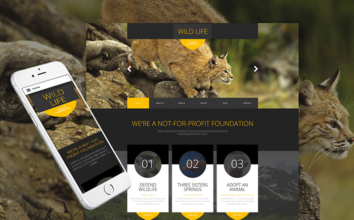 Foundation Joomla Template