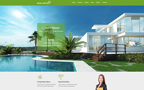 Real-Estate Unbounce Template