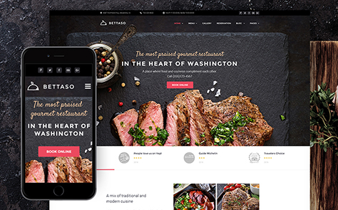 Barbecue Restaurant WordPress Theme