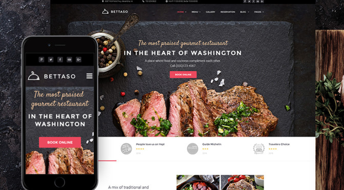 Top 10 Mouth-Watering Restaurant WordPress themes 2020